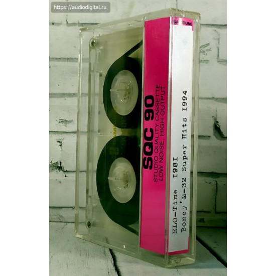 ELO-Time  1981\ Boney'M-32 Super Hits 1994  (МС) SAMSUNG