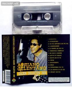 Adriano Celentano-Golden collection 2000 (MC)