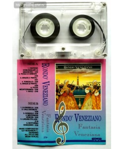 Rondo' Veneziano-Fantasia Veneziano (MC)