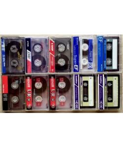 Лот из 10 аудиокассет (МС) (Арт. 057749)