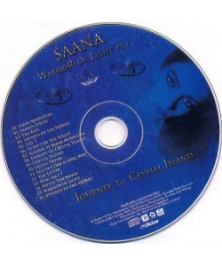Timo Tolkki–Saana Warrior Of Light Pt 1 (CD)