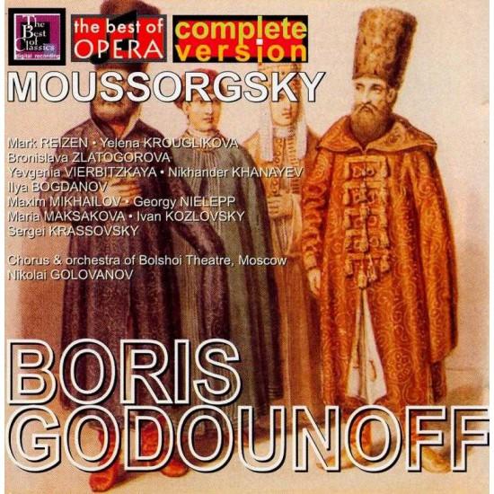 Moussorgsky-Boris Godunoff 3 (CD)