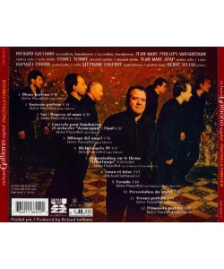 Richard Galliano Septet-Piazzolla Forever (CD)