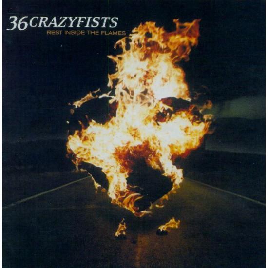 36 crazyfists-Rest Inside The Flames (CD)