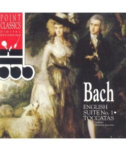 Bach-English Suite №1 Toccatas (CD)