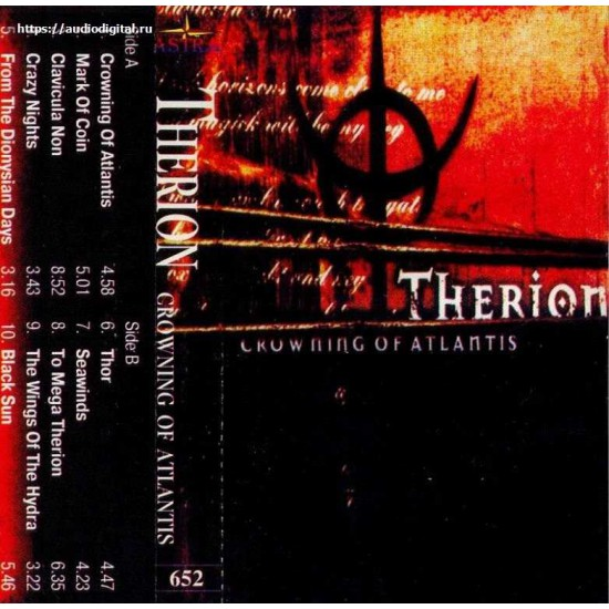 Therion?–Crowning Of Atlantis (МС)